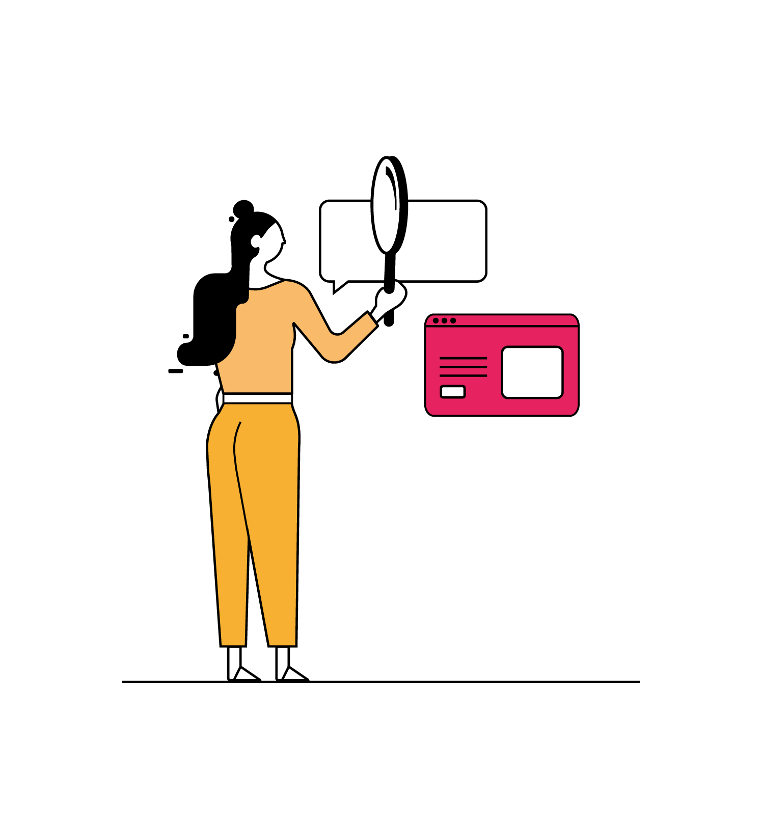 Label Touche conçois et construis les projets digitaux de votre site web