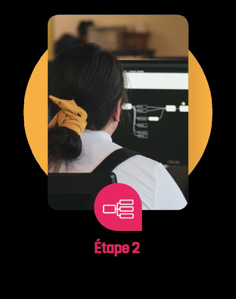 Label Touche la méthodologie étape 2 design et ergonomie