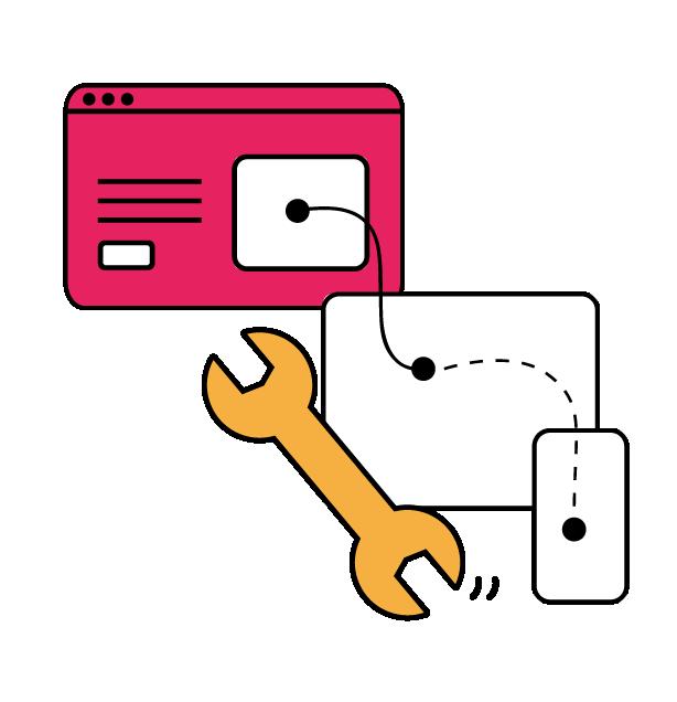 Label Touche met en place et conçois jusqu'au design de votre site web